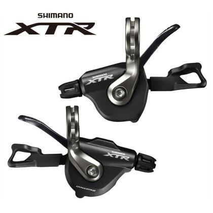 シマノXTRシフトレバーSL-M9000左右レバーセット2/3X11S【SHIMANOXTR】