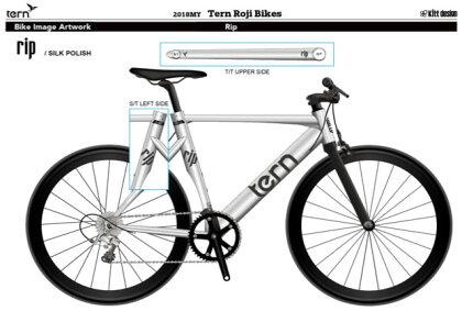 TernクロスバイクRip(リップ)シルクポリッシュ【クロスバイク】【ターン】【運動/健康/美容】