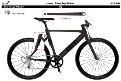 ターンリップ/RIP【クロスバイク】【650C】【街乗り】【TERN】