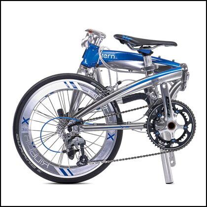 ターンVergeX18/ヴァージュX18【ドロップハンドル】【折りたたみ(折り畳み)自転車】【街乗り】【TERN】【02P07Feb16】