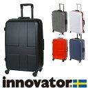 『楽天カードで最大P12倍』 スーツケース キャリー ハード 旅行 イノベーター innovator スーツケース 中型 60L 3泊~5泊程度 inv58 メンズ レディース プレゼント ギフト ポイント10倍 ラッピング あす楽 送料無料