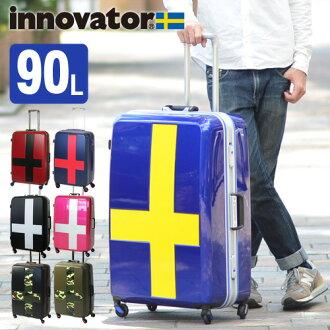旅行箱飛翔距離硬體旅遊!inobeta innovator大型90L超過1個星期inv68t人禮物女士大型長期旅遊全家旅行人氣漂亮的|背修學旅行飛翔距離情况休閒禮物包