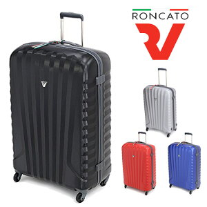 スーツケース L サイズ 超軽量 キャリーケース 旅行用かばん 大型 7日 8日 9日 スーツケース 1週間以上 ロンカート RONCATO (85L) 5072(1431) 修学旅行 おしゃれ プレゼント バッグ メンズ 送料無料