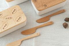 使うごとに味わい深くなってゆく木製のバターナイフ【オークヴィレッジ・Oak Village】MOTTAINA...