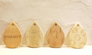 【オークヴィレッジ・Oak Village】MOTTAINAIの森 カッティングボード【4種類の国産材を使用し...