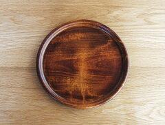 陶磁器にはないあたたかな手ざわりの木製プレート【オークヴィレッジ・Oak Village】シェーヌ・...