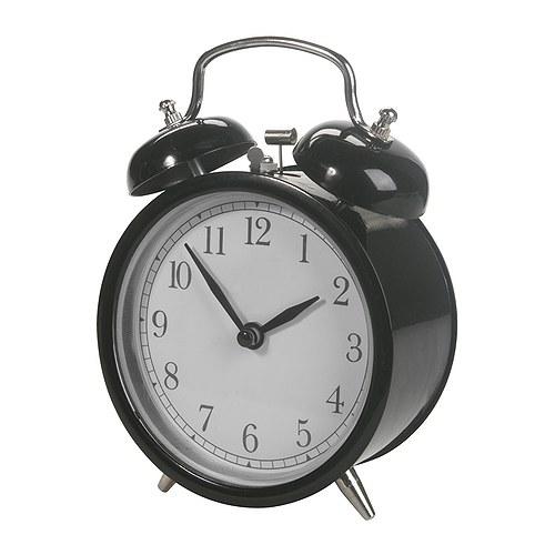 IKEA DEKAD イケア アラームクロック, ブラック 目覚まし時計 503.919.06