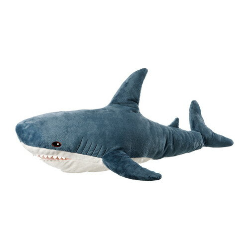 IKEA BLAHAJ イケア ソフトトイ, シャーク サメのぬいぐるみ 1メートル ビッグサイズ 103.735.89