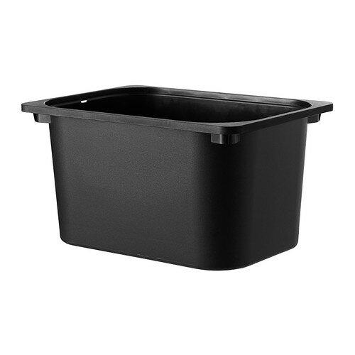 IKEA TROFAST イケア トロファスト 収納ボックス おもちゃ箱 ブラック 902.525.74