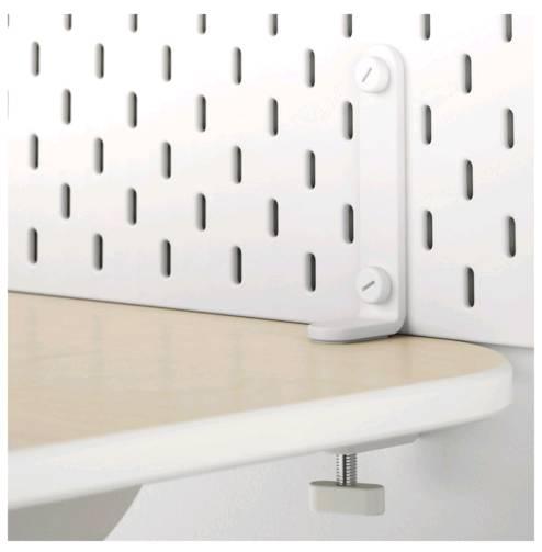 IKEA SKADIS スコーディスコネクター, ホワイト / 2 ピース103.207.94【メール便不可】