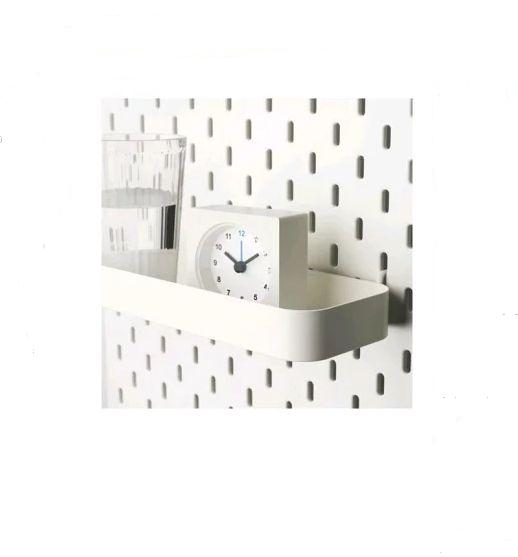 IKEA SKADIS スコーディスシェルフ, ホワイト603.208.00【メール便不可】