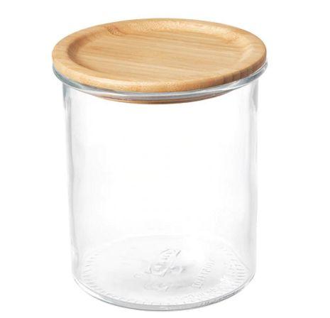 【NEW】IKEA365+ふた付き容器,ガラス,竹992.767.64