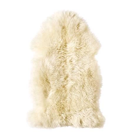 IKEA LUDDE ルッデ羊皮, ホワイト901.664.68【メール便不可】
