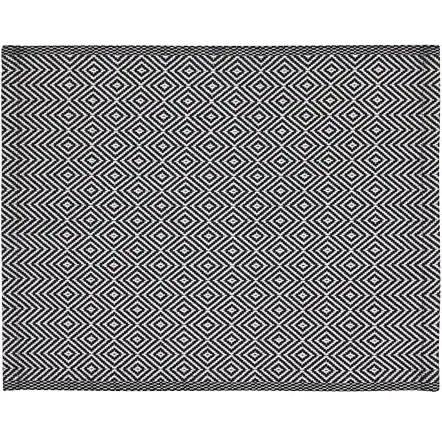 【NEW】IKEA GODDAG ゴッダグランチョンマット, ストライプ, ブラック, ホワイト503.428.69【メール便不可】