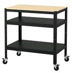 【NEW】IKEA BROR ブロール ワゴン, ブラック, パイン材合板 木製 403.338.51 【メール便不可】