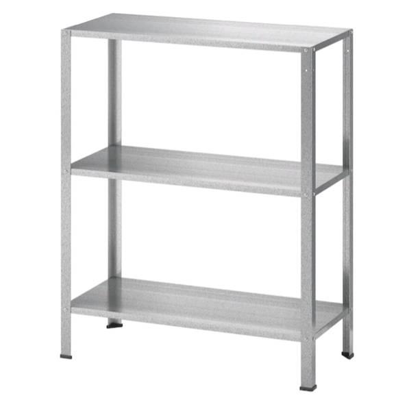 イケア IKEA HYLLIS ヒュッリスシェルフユニット, 室内/屋外用, 60x27x74 cm104.283.27【メール便不可】