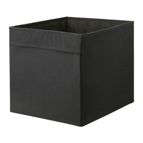 IKEA DRONA イケア ドローナ 収納ボックス, ブラック 102.192.82 【メール便不可】の写真