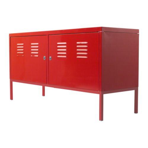 IKEA IKEA PS キャビネット レッド 201.683.43【メール便不可】の写真
