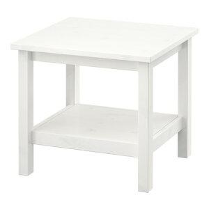 イケアIKEAHEMNESサイドテーブルホワイトステインホワイト701.783.30