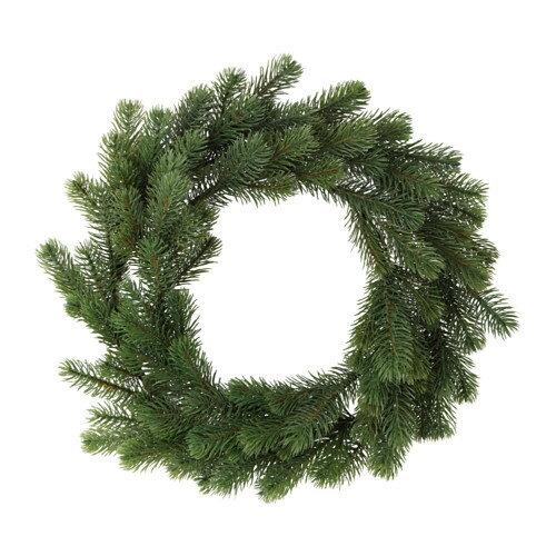 【クリスマス直前‼値下げしました‼】IKEA SMYCKA イケア クリスマス リース スプルース 703.265.14 【メール便不可】