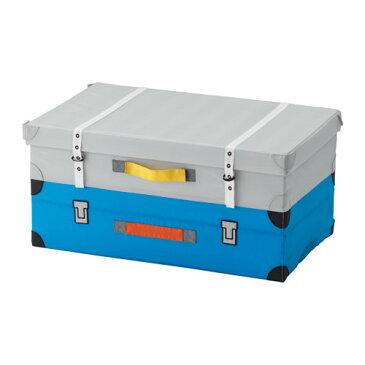 IKEA FLYTTBAR イケア おもちゃ用トランク, ターコイズ 803.288.38 【メール便不可】