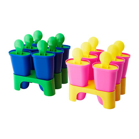 イケア IKEA CHOSIGT アイスキャンディー 型 ピンク/イエロー 602.084.79 【メール便不可】