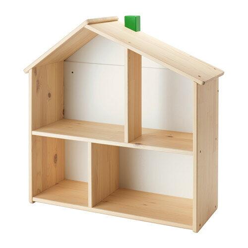 イケア IKEA FLISAT ドールハウス/ウォールシェルフ 702.969.65 【メール便不可】の写真