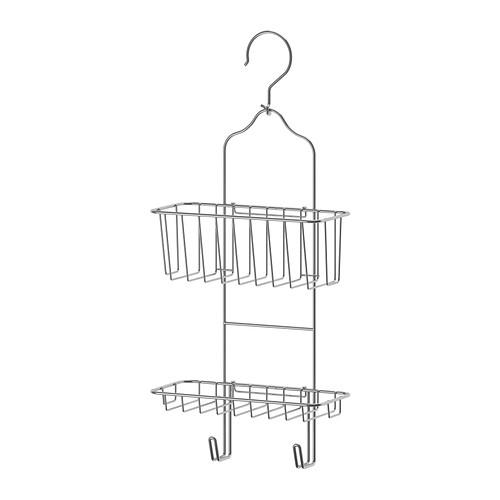 IKEA イケア IMMELN シャワーハンガー 2段 亜鉛メッキ 102.526.34【メール便不可】