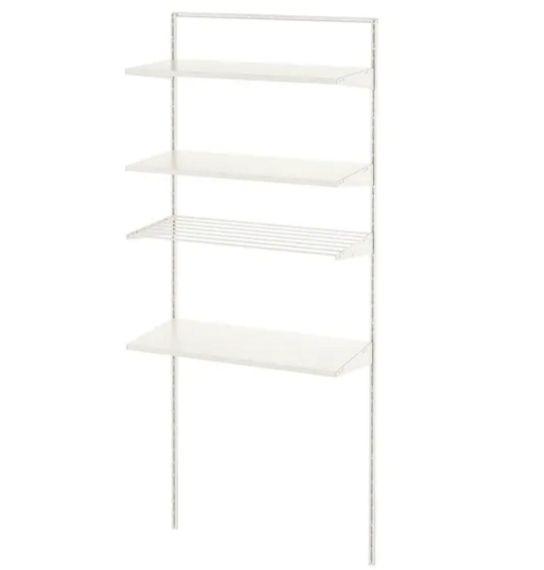 【NEW】IKEAイケアBOAXELボーアクセル1セクション,ホワイト,82x40x201cm493.855.72
