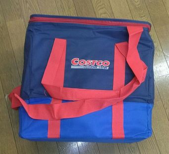 NEW コストコ オリジナル クーラー バッグ《ブルー》 BOXタイプ 42L 【メール便不可】