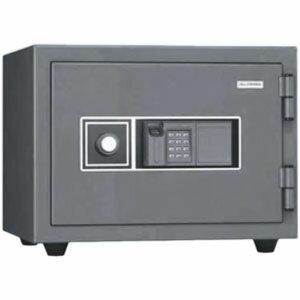 指紋認証耐火金庫 KMX-20FPE 日本アイエスケイ