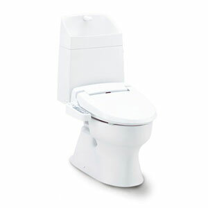 水洗トイレ バリュークリン 手洗い付/温水洗浄便座セット ピュアホワイト:オアシスプラス