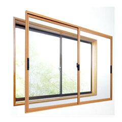 断熱 二重窓・ドア 楽窓2 簡易取付タイプ / Insulation Windows Glass