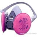半面形取替え式防塵マスク 6000/2091-RL3(M) 3M(スリーエム)
