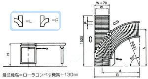 ニ方向分岐合流装置FLY-0507-1R