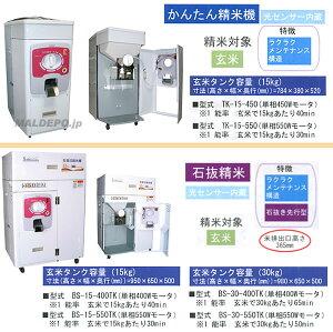 【OMシリーズ】単相200V・750Wモータ搭載籾・玄米用/一回通型低温精米機(30kg)NPF-30M750S2