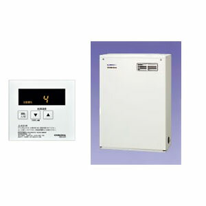 石油給湯器 給湯専用貯湯式ボイラー 屋外設置/前面排気型 UIB-NX46R(MD) リモコン付