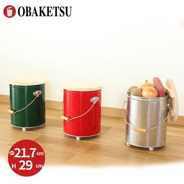 【OBAKETSU】キャスター付き野菜ストッカー小 YSK22 (じゃがいも4.4kgサイズ)