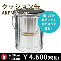 椅子型クッション缶AKPM
