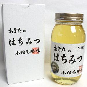 【秋田・小松養蜂場】国産 あきたのはちみつ【アカシア】1kg