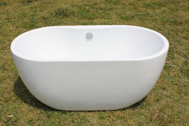 浴槽 バスタブ 浴槽 幅1400  浴槽 バスタブ 浴そう お風呂 置き型 洋式 エレガント バス 浴室 露天風呂 風呂桶 洋風アクリル製バスタブ KOA670:オバラ住設