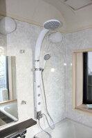 オーバーヘッドシャワー水栓KOJ-2419Wリフォーム用