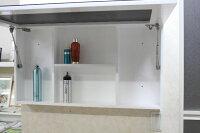 洗面台洗面化粧台1面鏡ミラーキャビネット洗面所鏡ミラーキャビネット洗面所収納1面鏡上下開閉ミラーキャビネットKOTS-A3022