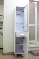 洗面所収納棚洗面所収納トールキャビネット幅330洗面台収納ランドリー収納サニタリー収納トールキャビネットKOTS-3016