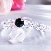 ブレスレット 黒水晶 モリオン 4A 10mm 水晶 8mm パワーストーン 天然石 レディース メンズ