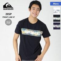 胸ポケットにあしらったロゴがアクセントのシンプルなラッシュTシャツ