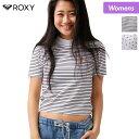 さらに5%OFF ROXY/ロキシー レディース 半袖 Tシャツ RST162015 ティーシャツ プリント 柄 Uネック 女性用