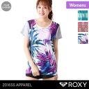 ROXY/ロキシー レディース 半袖 Tシャツ ERJKT03087 ティーシャツ スポーツウェア ウエア フィットネスウェア ランニング 女性用 おしゃれ 人気 ブランド