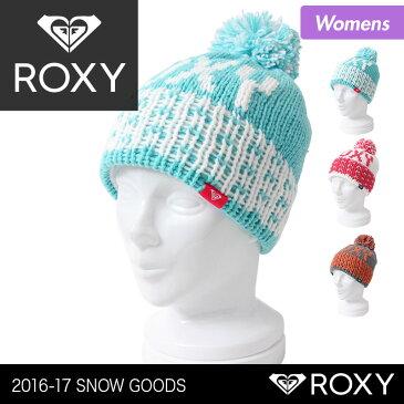 ROXY/ロキシー レディース ポンポン付き シングル ニット帽子 ERJHA03102 ニットキャップ ビーニーキャップ 毛糸のぼうし 防寒 スキー スノーボード スノボ 女性用 おしゃれ かわいい