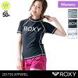 ROXY/ロキシー レディース 半袖 ラッシュガード RLY165083 Tシャツタイプ 水着 みずぎ 紫外線カット UVカット UPF50+ 女性用 人気 ブランド おしゃれ かわいい